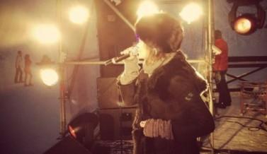 Выступление Александры Рябининой на 6-летии «Игоры»