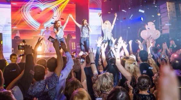 Выступление группы «Серебро» в Иркутске
